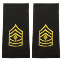 Vanguard ARMY EPAULET: FIRST SERGEANT - LARGE
