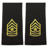 Vanguard ARMY EPAULET: SERGEANT MAJOR - LARGE