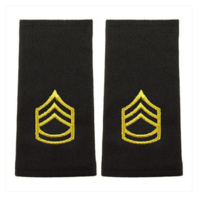 Vanguard ARMY EPAULET: SERGEANT FIRST CLASS - SMALL