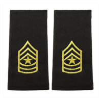 Vanguard ARMY EPAULET: SERGEANT MAJOR - SMALL