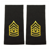 Vanguard ARMY EPAULET: COMMAND SERGEANT MAJOR - SMALL