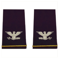 Vanguard ARMY EPAULET: COLONEL - SMALL