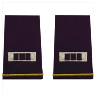Vanguard ARMY EPAULET: WARRANT OFFICER 3 - SMALL