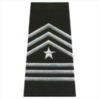 Vanguard ARMY ROTC EPAULET: SERGEANT MAJOR