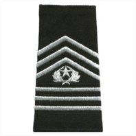 Vanguard ARMY ROTC EPAULET: COMMAND SERGEANT MAJOR