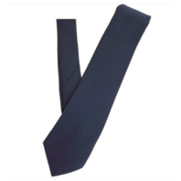 "Vanguard COAST GUARD TIE: FOUR-IN HAND - 3 1/8""; INCHES BLUE"
