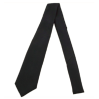 Vanguard ARMY TIE: 4 IN HAND - BLACK EXTRA LONG LENGTH