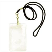 Vanguard IDENTIFICATION TAG CARD HOLDER - BLACK LANYARD