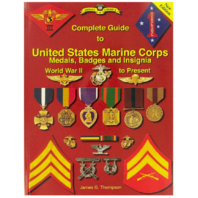 Vanguard BOOK: US MARINE CORPS MEDALS, BADGES AND INSIGNIA WWII TO PRESENT