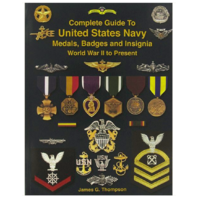 Vanguard BOOK: COMPLETE GUIDE TO US NAVY MEDALS BADGES & INSIGNIA WWII - PRESENT