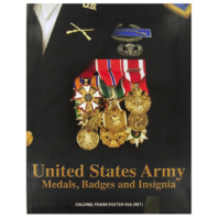 Vanguard BOOK: UNITED STATES ARMY MEDALS, BADGES AND INSIGNIA