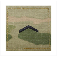 Vanguard ARMY ROTC OCP RANK W/HOOK CLOSURE : PRIVATE (PV2)