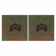 Vanguard ARMY ROTC OCP RANK W/HOOK CLOSURE : SERGEANT (SGT)