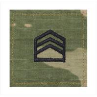 Vanguard ARMY ROTC OCP RANK W/HOOK CLOSURE : STAFF SERGEANT (SSGT)