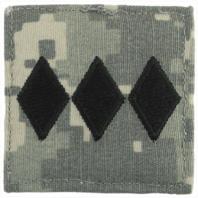 Vanguard ARMY ROTC ACU RANK W/HOOK CLOSURE: COLONEL