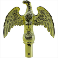 Vanguard FLAG POLE ACCESSORIES: EAGLE ORNAMENT - GOLD PLATED
