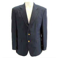 Vanguard MALE CUT SIMPLE NAVY BLUE BLAZER SIZE 48
