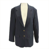 Vanguard FEMALE CUT SIMPLE NAVY BLUE BLAZER SIZE 10