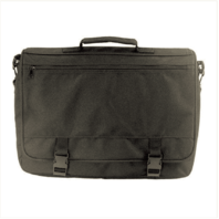 Vanguard FLAPOVER ATTACHE CASE - BLACK POLYESTER WITH HANG TAG