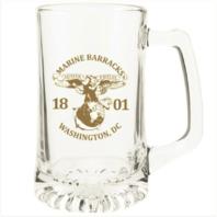 Vanguard MARINE CORPS GLASS MUG- 8TH & I WASHINGTON D.C.