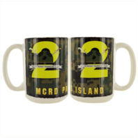 Vanguard MARINE CORPS MUG - PARRIS ISLAND 2ND RECRUIT BATTALION