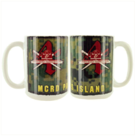 Vanguard MARINE CORPS MUG - PARRIS ISLAND 4TH RECRUIT BATTALION