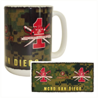 Vanguard MARINE CORPS MUG - MCRD SAN DIEGO 1ST RECRUIT TRAINING BATTALION