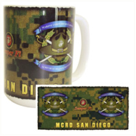Vanguard MARINE CORPS MUG - MCRD SAN DIEGO 3RD RECRUIT TRAINING BATTALION