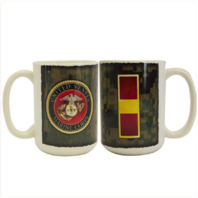 Vanguard MARINE CORPS MUG - WARRANT OFFICER 1