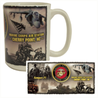 Vanguard MARINE CORPS MUG - USMC CHERRY POINT