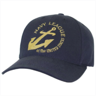 Vanguard NAVY LEAGUE EMBROIDERED BALL CAP - BLUE WITH ADJUSTABLE BACK