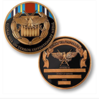 Vanguard GLOBAL WAR ON TERRORISM EXPEDITIONARY Medal Coin