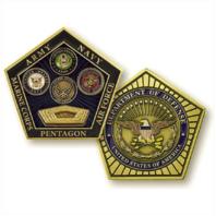 Vanguard PENTAGON, DEPARTMENT OF DEFENSE COIN