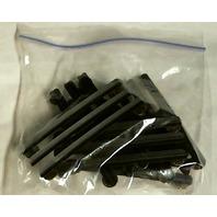 Vanguard Ribbon Mounting Bar - Fits 9 Ribbons - Black Metal - Lot Of 6 -- OOP