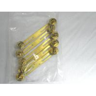 5 Pack Vanguard Brass Ribbon Mounting Bar Clutch Back Fitting 2 Ribbons