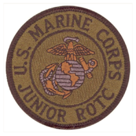 Vanguard MARINE CORPS JROTC PATCH - SUBDUED (NON-RETURNABLE)