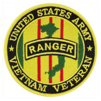Vanguard VETERAN PATCH: US ARMY RANGER VIETNAM