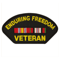 Vanguard VETERAN PATCH: ENDURING FREEDOM