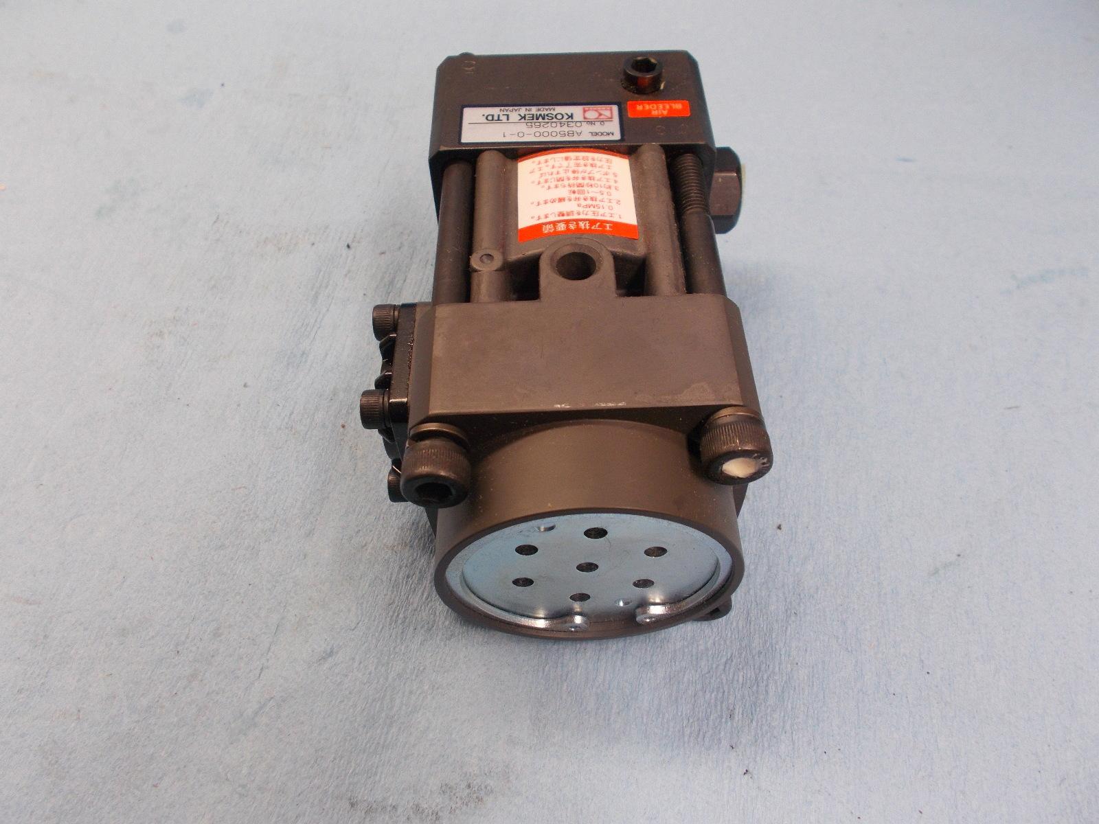 Kosmek hydraulic industrial ab heavy duty work holding