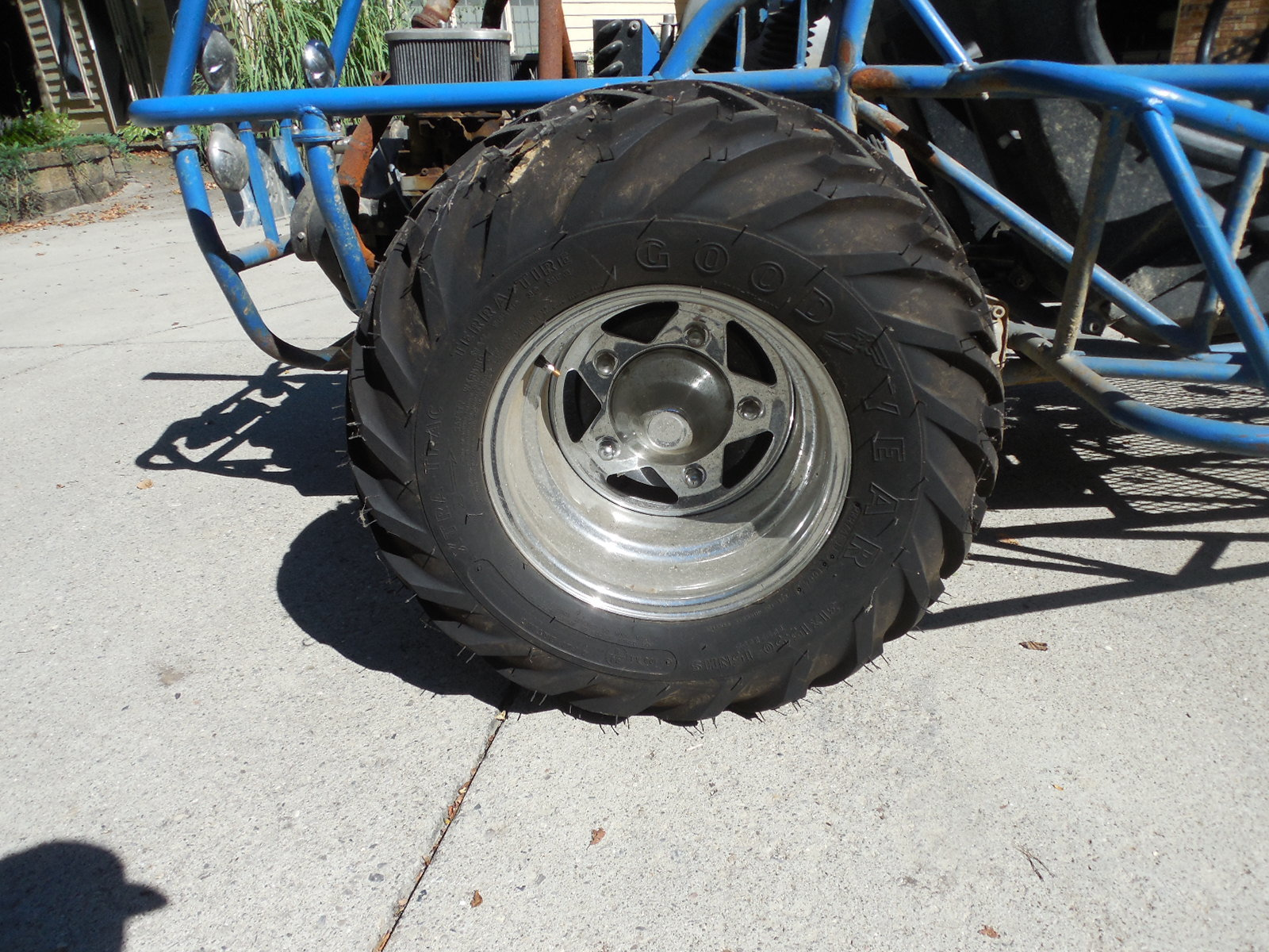Sand Rail Wheels : Vw sand rail dune buggy new tires rims pancake engine