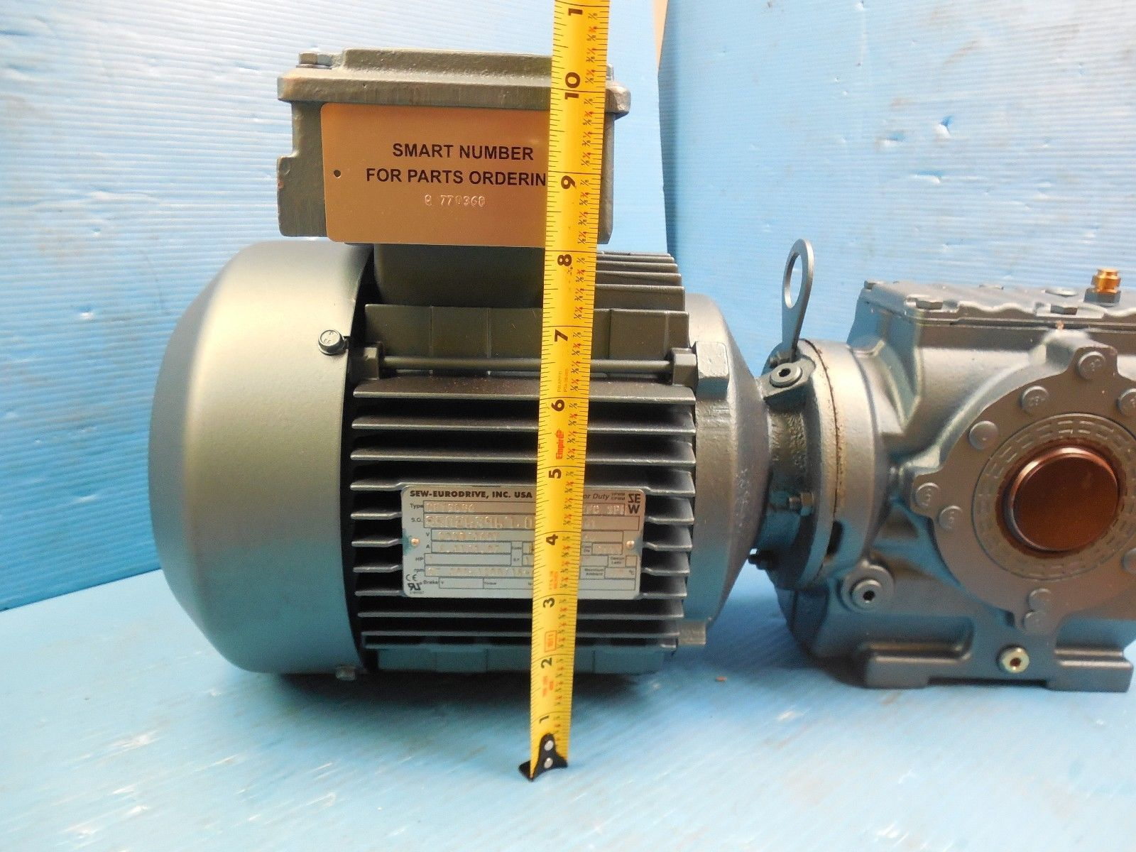 New In Box Sew Eurodrive Sa47dt90s6 Ac Gear Motor Hz 60 Hp