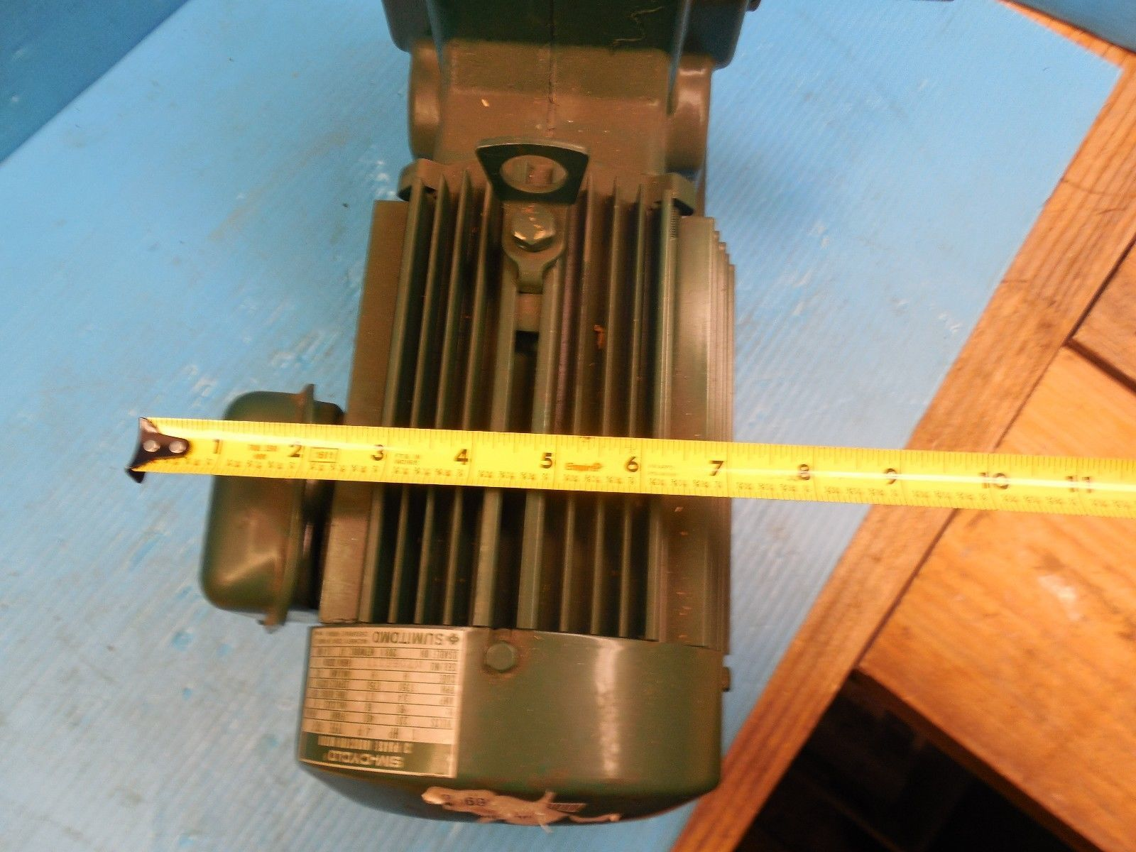 SUMITOMO RMH1-50RY AC GEAR BOX & MOTOR CLASS I MOTOR HP 1 RATIO 80 RPM 21.9