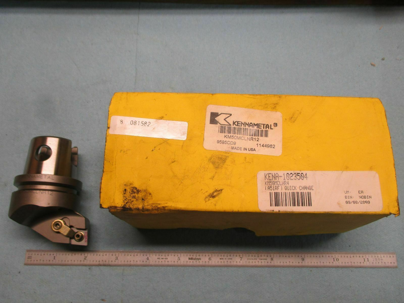kennametal tool holders. new in box kennametal km50 mclnr 12 turning tool holder holds cnmg 432 inserts kennametal tool holders