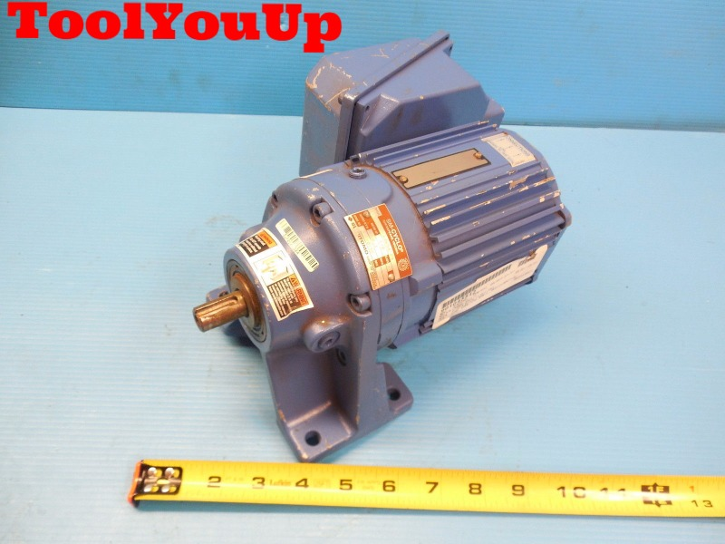 Sumitomo Cnhms01 6065a 29 Ac Gear Motor 1 8 Hp Made In Usa Motors M J Tooling Llc