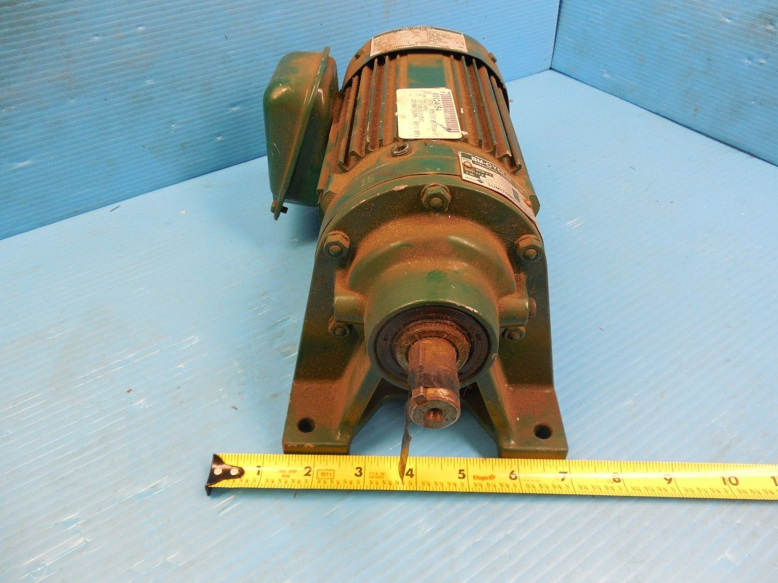 SM CYCLO SUMITOMO CNHMS05-4085YA AC GEAR MOTOR INDUSTRIAL MACHINERY TOOLING