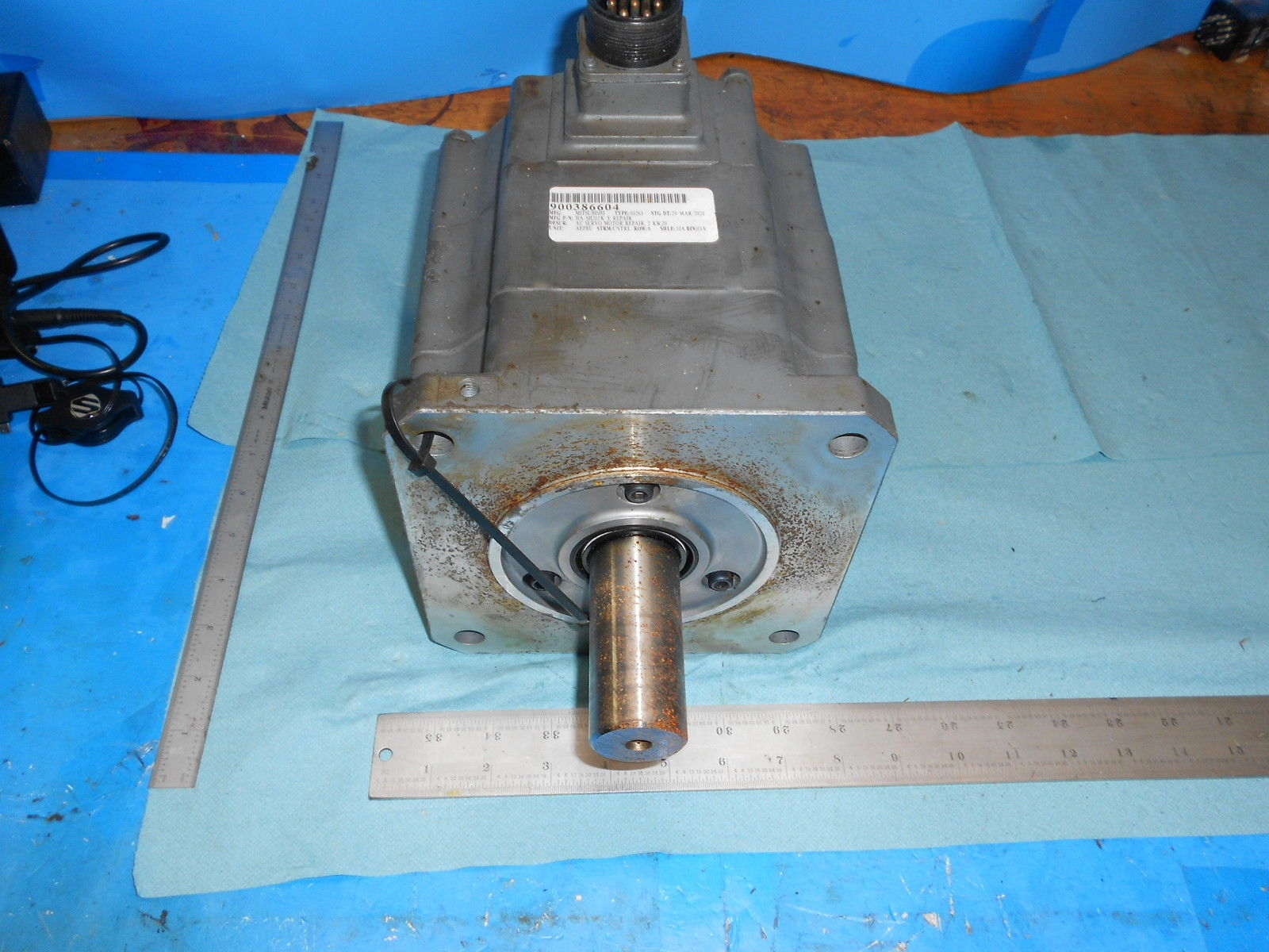 Mitsubishi Ha Sh202k Y Ac Servo Motor Industrial Made In