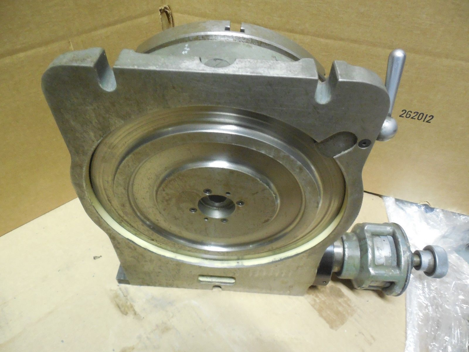 Moore tools 10 3 4 rotary table 12sec s1053 for jig for 12 rotary table