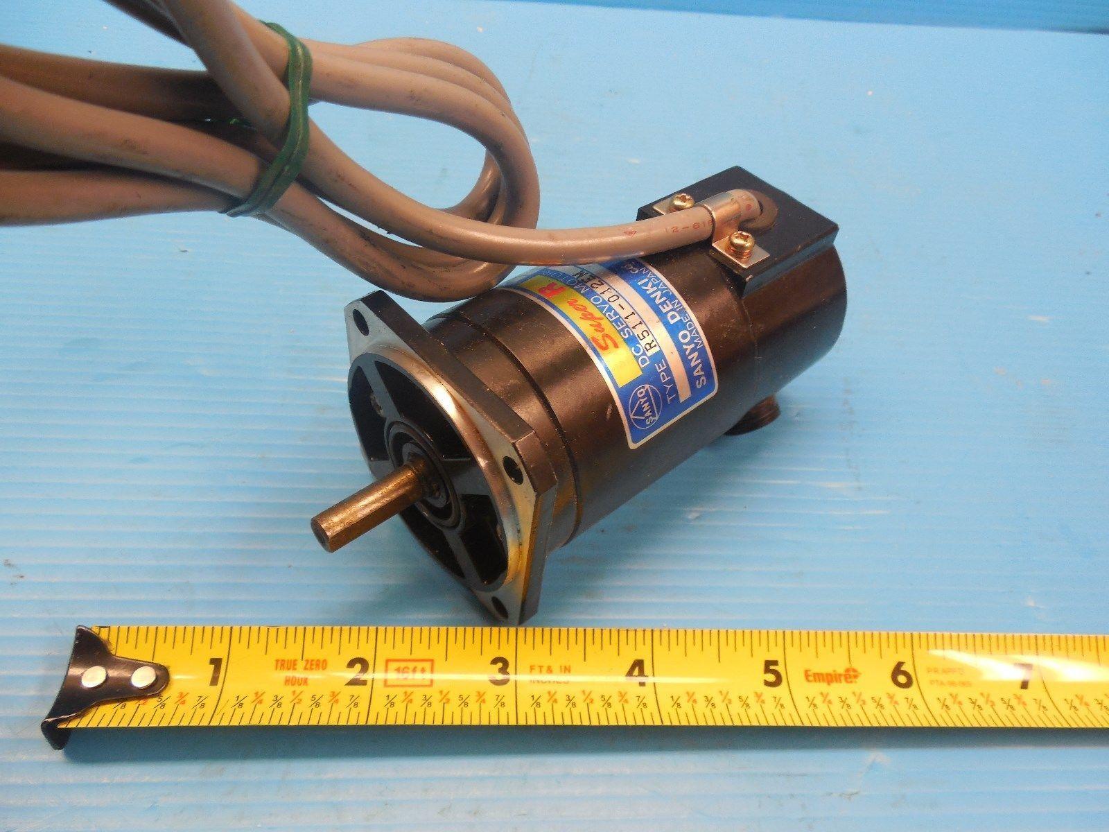 Sanyo Denki R511 012em Dc Servo Motor Industrial Made In Japan L6 30 Ebay