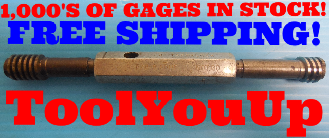5/8 8 ACME THREAD PLUG GAGE .625 GO NO GO P.D.'S = .5785 & .5945 INSPECTION TOOL