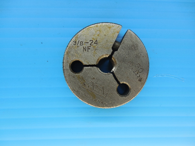 3/8 24 NF THREAD RING GAGE .375 GO ONLY P.D. = .3479 INSPECTION TOOLING QUALITY